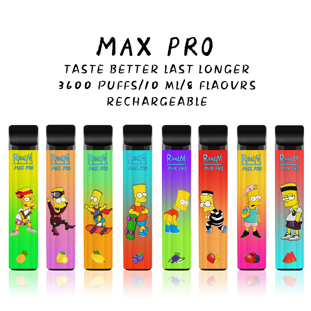 Movkin RandM Max Pro Cartoon Style Disposable Vape Pod Device 3600 Puffs (Coming Soon)